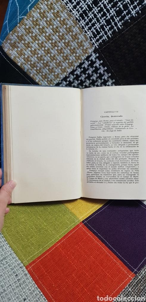 Libros de segunda mano: Libro CICERÓN Y SU DRAMA POLÍTICO. PRIMERA EDICIÓN, 1942 - Foto 13 - 259327015