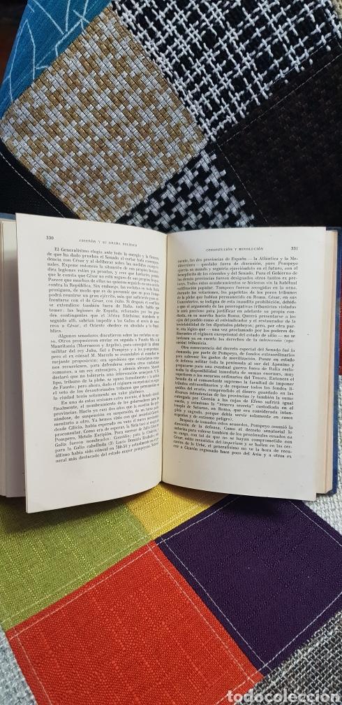 Libros de segunda mano: Libro CICERÓN Y SU DRAMA POLÍTICO. PRIMERA EDICIÓN, 1942 - Foto 14 - 259327015