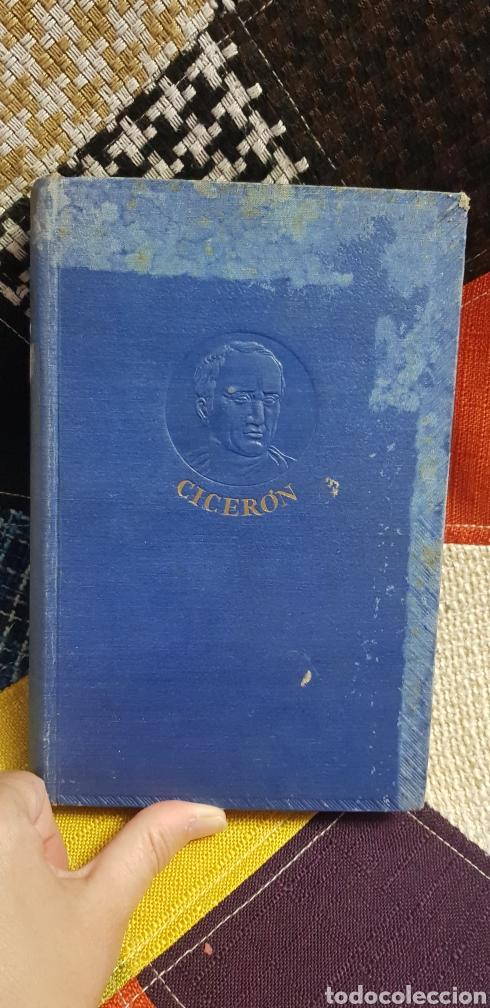 LIBRO CICERÓN Y SU DRAMA POLÍTICO. PRIMERA EDICIÓN, 1942 (Libros de Segunda Mano - Historia Antigua)