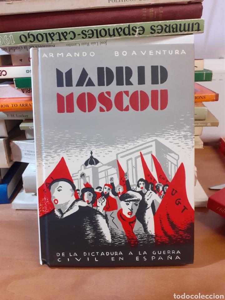 MADRID MOSCU (Libros de Segunda Mano - Historia Antigua)