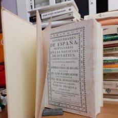 Libros de segunda mano: ANTIGUEDADES DE ESPAÑA. Lote 261294275