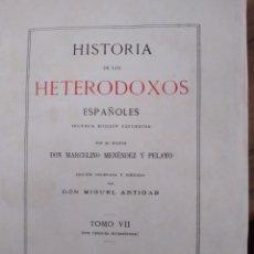 Libros de segunda mano: HISTORIA DE KIOS HETERODOXOS ESPAÑOLES. Lote 261525820