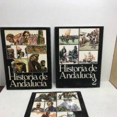 Libros de segunda mano: HISTORIA DE ANDALUCÍA ( 3 TOMOS ) 1982. Lote 262183185