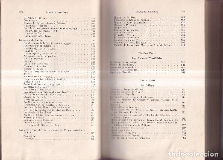 Libros de segunda mano: LAS MÁS BELLAS LEYENDAS DE LA ANTIGÜEDAD CLÁSICA - G. SCHWAB - EDITORIAL LABOR C. 1960 - Foto 3 - 262267010