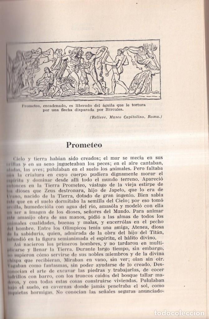 Libros de segunda mano: LAS MÁS BELLAS LEYENDAS DE LA ANTIGÜEDAD CLÁSICA - G. SCHWAB - EDITORIAL LABOR C. 1960 - Foto 4 - 262267010