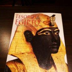Libros de segunda mano: LIBRO TESOROS DE EGIPTO, EL MUSEO EGIPCIO DEL CAIRO. Lote 262598230