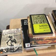 Libros de segunda mano: LOTE DE LIBROS DE HISTORIA. Lote 263025645