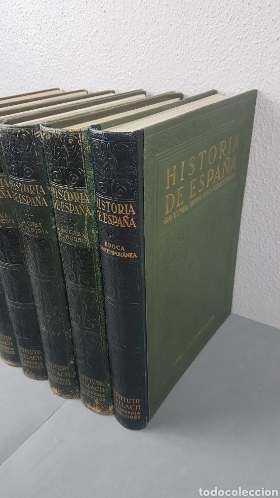 Libros de segunda mano: HISTORIA DE ESPAÑA.Gran Historia General de los Pueblos Hispanos.EDICIÓN COMPLETA. INSTITUTO GALLACH - Foto 2 - 264068975