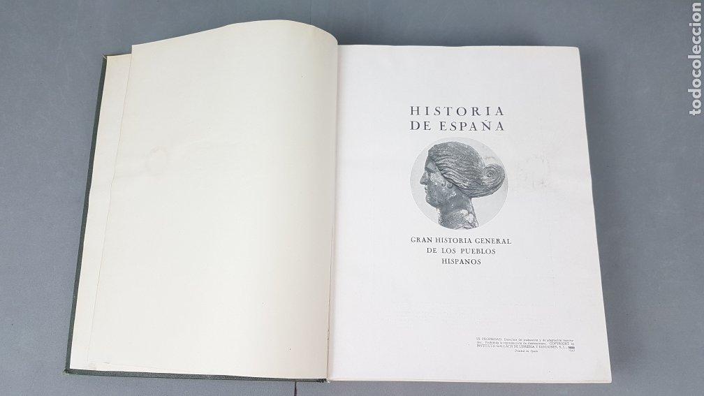 Libros de segunda mano: HISTORIA DE ESPAÑA.Gran Historia General de los Pueblos Hispanos.EDICIÓN COMPLETA. INSTITUTO GALLACH - Foto 4 - 264068975