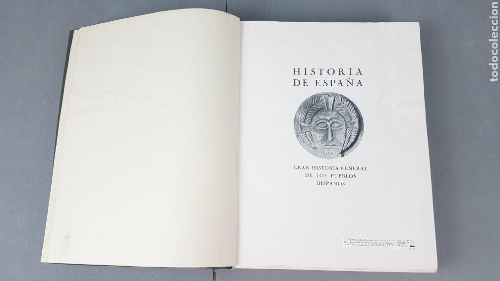 Libros de segunda mano: HISTORIA DE ESPAÑA.Gran Historia General de los Pueblos Hispanos.EDICIÓN COMPLETA. INSTITUTO GALLACH - Foto 10 - 264068975