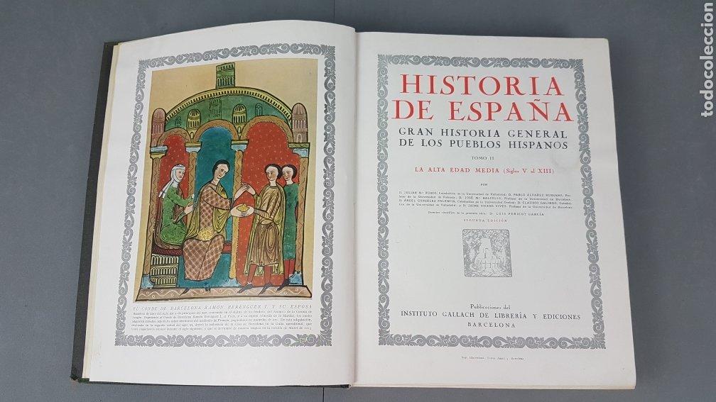 Libros de segunda mano: HISTORIA DE ESPAÑA.Gran Historia General de los Pueblos Hispanos.EDICIÓN COMPLETA. INSTITUTO GALLACH - Foto 11 - 264068975