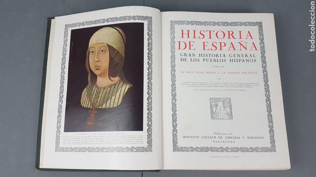 Libros de segunda mano: HISTORIA DE ESPAÑA.Gran Historia General de los Pueblos Hispanos.EDICIÓN COMPLETA. INSTITUTO GALLACH - Foto 16 - 264068975