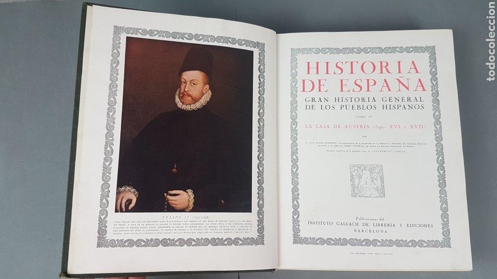 Libros de segunda mano: HISTORIA DE ESPAÑA.Gran Historia General de los Pueblos Hispanos.EDICIÓN COMPLETA. INSTITUTO GALLACH - Foto 22 - 264068975