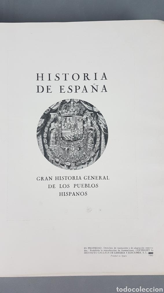 Libros de segunda mano: HISTORIA DE ESPAÑA.Gran Historia General de los Pueblos Hispanos.EDICIÓN COMPLETA. INSTITUTO GALLACH - Foto 25 - 264068975