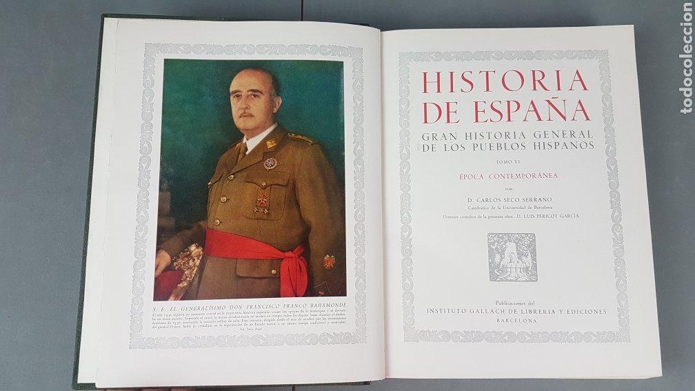 Libros de segunda mano: HISTORIA DE ESPAÑA.Gran Historia General de los Pueblos Hispanos.EDICIÓN COMPLETA. INSTITUTO GALLACH - Foto 31 - 264068975