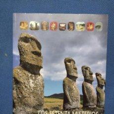 Libros de segunda mano: LOS SETENTA MISTERIOS DEL MUNDO ANTIGUO - BRIAN M. FAGAN - 2008 304P. 26X20. Lote 264163128