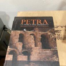 Libros de segunda mano: LIBRO PETRA LA PERLA DEL DESIERTO. Lote 264312612