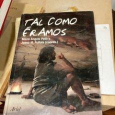Libros de segunda mano: LIBRO TAL COMO ÉRAMOS. Lote 264989269