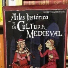 Libros de segunda mano: ATLAS HISTÓRICO DE LA CULTURA MEDIEVAL. ROBERTO BARBIERI (ED.). EDICIONES SAN PABLO. EDAD MEDIA.. Lote 265806049