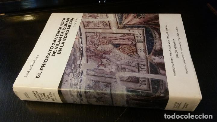 1986 - NOVO CAZÓN - EL PRIORATO SANTIAGUISTA DE VILAR DE DONAS EN LA EDAD MEDIA (1194-1500) (Libros de Segunda Mano - Historia Antigua)