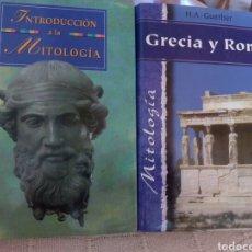 Libros de segunda mano: INTRODUCCIÓN A LA MITOLOGÍA Y GRECIA Y ROMA. Lote 269054928