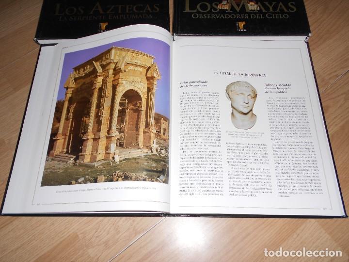 Libros de segunda mano: LOTE 3 GRANDES CIVILIZACIONES, LOS AZTECAS, LOS MAYAS Y ROMA - ED. RUEDA. ILUSTRADOS. TENGO + LIBROS - Foto 2 - 269347343