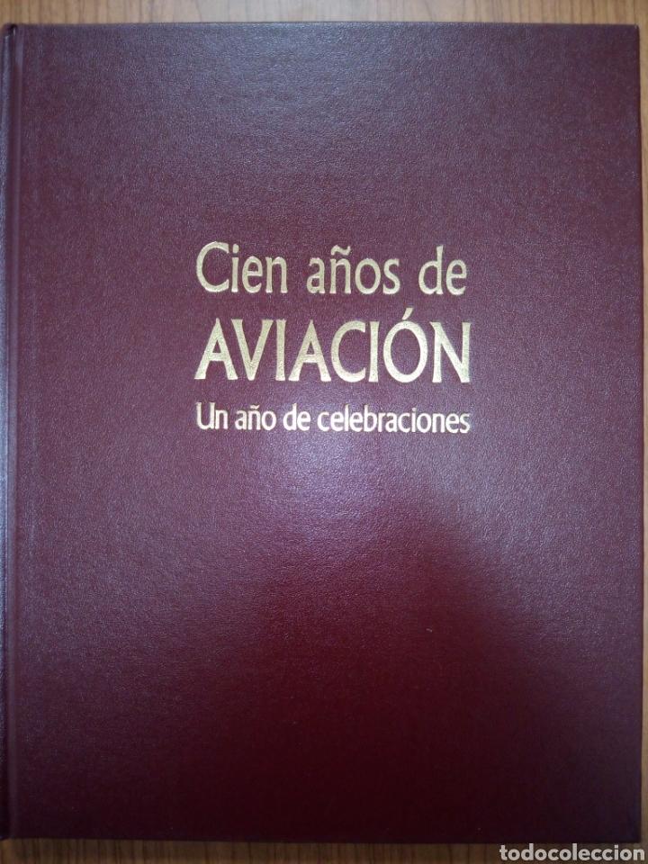 Libros de segunda mano: Libro CIEN AÑOS DE AVIACION - Foto 2 - 269350703
