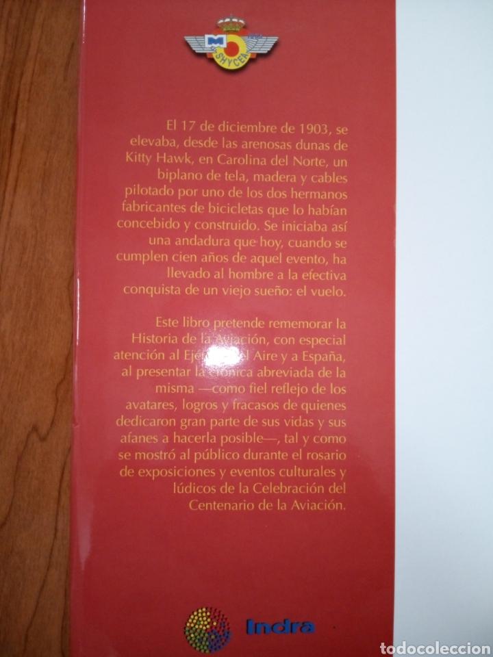 Libros de segunda mano: Libro CIEN AÑOS DE AVIACION - Foto 3 - 269350703