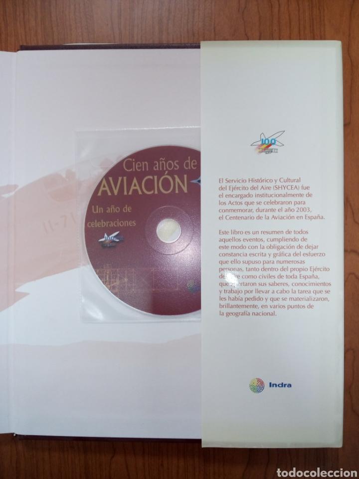 Libros de segunda mano: Libro CIEN AÑOS DE AVIACION - Foto 5 - 269350703