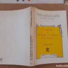 Libros de segunda mano: JOSÉ MARÍA MÍNGUEZ FERNÁNDEZ EL DOMINIO DEL MONASTERIO DE SAHAGÚN EN EL SIGLO X. Lote 270371393