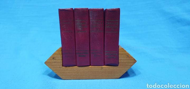 MINILIBROS - COLECCIÓN GRANDES BATALLAS - ROCHE (Libros de Segunda Mano - Historia Antigua)