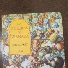 Libros de segunda mano: LIBRO LAS GUERRAS DE GRANADA. Lote 271934788