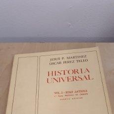 Libros de segunda mano: CUADERNO HISTORIA UNIVERSAL. Lote 271946443
