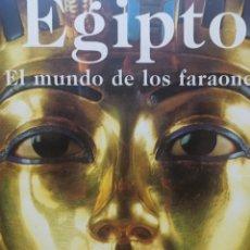 Libros de segunda mano: EGIPTO EL MUNDO DE LOS FARAONES EDITADO POR REGINE SCHULZ Y MATTHIAS SEIDEL KONEMANN 1997. Lote 274247768