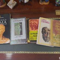 Libros de segunda mano: BUEN LOTE DE LIBROS DE HISTORIA .... Lote 274934683