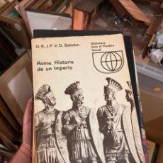 Libros de segunda mano: LOTE DE 9 LIBROS HISTORIA ROMANA. Lote 275676923