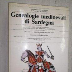 Libros de segunda mano: GENEALOGIE MEDIOEVALI DI SARDEGNA. Lote 276555798