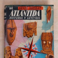 Libros de segunda mano: LA ATLÁNTIDA HISTORIA Y LEYENDA. Lote 276598028