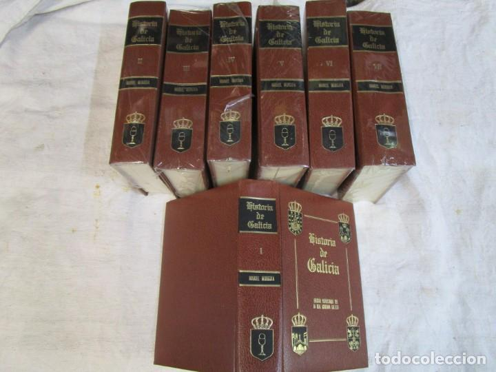 HISTORIA DE GALICIA - MANUEL MURGUIA - EDI ENCICLOPEDIA VASCA 1978 7 TOMOS COMPLETA + INFO (Libros de Segunda Mano - Historia Antigua)