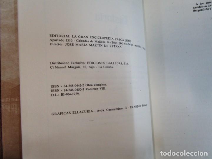 Libros de segunda mano: HISTORIA DE GALICIA - BENITO VICETTO - EDI ENCICLOPEDIA VASCA 1978 7 TOMOS COMPLETA, SIN USO + INFO - Foto 7 - 47024106
