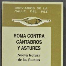 Libros de segunda mano: ROMA CONTRA CANTABROS Y ASTURES. MARTINO. Lote 277090543