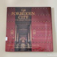 Libros de segunda mano: LIBRO THE FORBIDEN CITY THE GREAT WITHIN (1995).. Lote 277240983