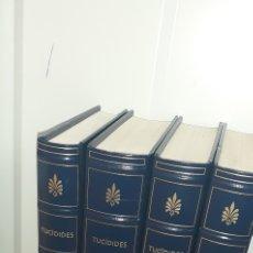 Libros de segunda mano: TUCIDIDES.GUERRA DEL PELOPONESO .BIBLIOTECA GREDOS 4 TOMOS. Lote 277255708