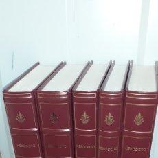 Libros de segunda mano: HERODOTO.HISTORIA .5 TOMOS. BIBLIOTECA GREDOS. Lote 277264108