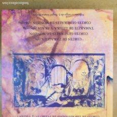 Libros de segunda mano: ACTA CURIARUM REGNI ARAGONUM. TOMO V / EDICIÓN A CARGO DE JOSÉ ÁNGEL SESMA MUÑOZ / ZARAGOZA 2009. Lote 277568688