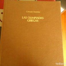 Libros de segunda mano: LAS OLIMPIADAS GRIEGAS. Lote 278384493