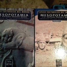 Libros de segunda mano: ATLAS CULTURALES DEL MUNDO.MESOPOTAMIA Y EL ANTIGUO ORIENTE MEDIO.VOL I Y II.MICHAEL ROAF.1992.. Lote 278695923