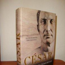 Libros de segunda mano: CÉSAR. LA BIOGRAFÍA DEFINITIVA - ADRIAN GOLDSWORTHY - LA ESFERA DE LOS LIBROS. Lote 278849368