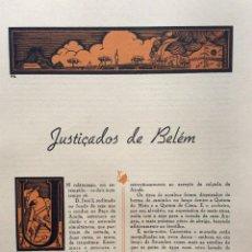 Libros de segunda mano: GRANDES DRAMAS DE LA HISTORIA. CUADERNO CON 2 DRAMAS ILUSTRADOS. EN PORTUGUÉS.. Lote 278871378