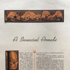 Libros de segunda mano: GRANDES DRAMAS DE LA HISTORIA. CUADERNO CON 2 DRAMAS ILUSTRADOS. EN PORTUGUÉS. EJEMPL. 2. Lote 278872233
